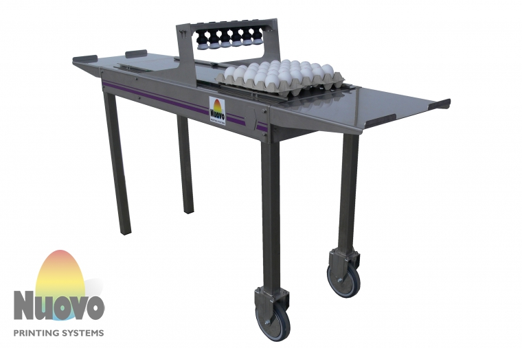 Nuovo Egg Printing and Egg Stamping Systems - Piccolo型便捷印章机