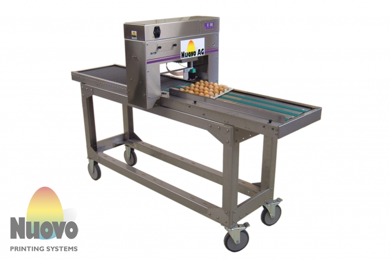 Nuovo Egg Printing and Egg Stamping Systems - Imprimante jet d'encre Egg Jet BAN1